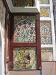 The vandalized frescoes